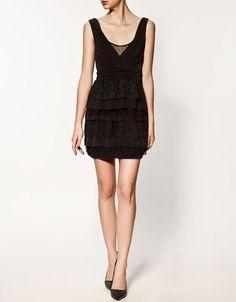 Zara #DRESS WITH FRILLS $79.90