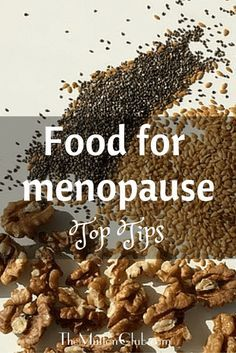 A look at eight superfoods which can help you cope with menopausal symptoms in the most natural way, through your diet! Some great tips here!