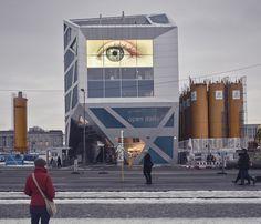 Urban all seeing eye.   @ Berlin.