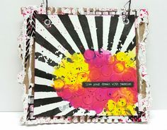 Easy Colorful Wall Hanging with Guest Artist MixedMedia Jenn | Somerset Place The Official Blog of Stampington  Company