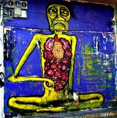"January 25, 2013 · Graf-Santurce Pda. 23B — at Ave. Juan Ponce de León, Pda. 23, Santurce, Puerto Rico. Serie: ""Los Muros Hablan"" Autor:  País Origen: Año: 2012"
