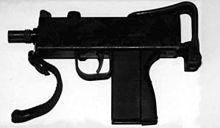 Pistola ametralladora - La MAC-11 es una versión compacta de la MAC-10