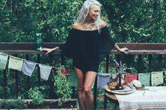 Dream Boho Little Black Dress Sexy black dress by BlondeVagabond Sexy Little Black Dresses, Simple Black Dress, Sexy Dresses, Nice Dresses, Classy Wedding Dress, Simple Bridesmaid Dresses, Hippie Tops, Boho Tops, Grunge