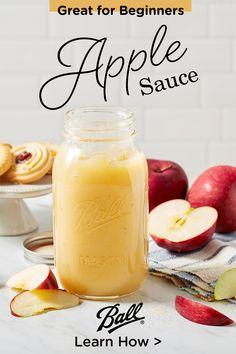 Apple Recipes, New Recipes, Vegan Recipes, Favorite Recipes, Ball Canning Recipe, Canning Recipes, Canning 101, Kitchen Recipes, Marmalade