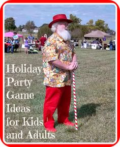 HOLIDAY PARTY GAMES