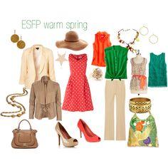ESFP warm spring
