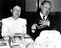 Let Them Eat Cake   A Certain Cinema-Alfred Hitchcock and wife Alma
