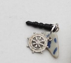 iPhone Cell Phone Smart Phone iPod Sea Glass Charm by timeremains, $5.80