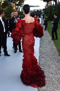 Katy Perry in Marchesa at amfAR's 23rd Cinema Against AIDS Gala