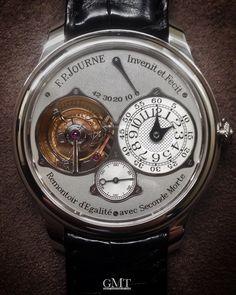 Tourbillon a Remontoir d'Egalitè avec Seconde Morte a true masterpiece by F.P. Journe.  For any information contact me at gmt@gmtitalia.com  #watchshot #baselworld #baselworld2016  #timepiece #sihh2016 #instawatch #dailywatch #wristshot #watchporn #wristporn #patekphilippe #iwatch #gmtmilano #richardmille #vacheronconstantin #rkoi #luxurywatch #tourbillon #sihh #hublot #audemarspiguet #instawatches #watchinsanity #watchesofinstagram #horology #horophile #gmtitaly #watchnerd #watchoftheday…
