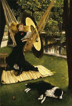 James Jacques Joseph Tissot art