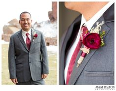 Styled Elopement at Red Rocks in Denver, Colorado | Groom | Jessi Dalton Photography | Colorado Wedding Photographer | www.jessidalton.com