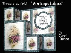 TSF Vintage lilacs on Craftsuprint - View Now!