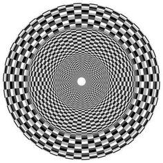 Lines Create Illusions: Op Art Roy Lichtenstein Pop Art, Illusion Kunst, Illusion Art, Art Optical, Optical Illusions, Illusion Photos, Eye Tricks, Hidden Images, Magic Eyes