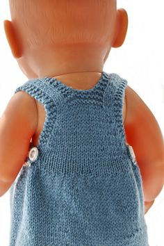 Girl Doll Clothes, Girl Dolls, Baby Dolls, Everyday Outfits, I Dress, Baby Knitting, American Girl, Crochet Top, Knitting Patterns
