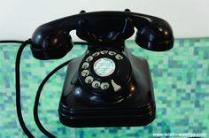 Standard Electric (chifrudinho)A partir dos anos 1953/54, até meados dos anos 1960, boa parte das linhas telefônicas automáticas que demandavam aparelhos telefônicos com disco eram instaladas com este modelo de aparelho pela CTB - Companhia Telefônica Brasileira.