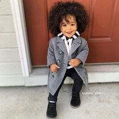 Black Kids Fashion, Snow Today, Kinky Hair, Natural Hair Journey, Crochet Hair Styles, Stylish Kids, Keep Warm, Cute Hairstyles, Black Hair