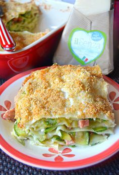 Dolci a go go: Mercoledì salato- Lasagne di zucchine con crumble al parmigiano