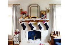 Christmas decor // Mėlynos spalvos kalėdinės detalės. Domoplius.lt