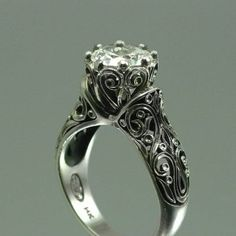 OMG. The details on this ring are gorgeous.