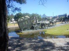 Monumento a la Diligencia. El Prado, Montevideo