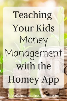Teaching Your Kids Money Management with the Homey App – Sherri Osborne Teaching Your Kids Money Management with the Homey App Teaching your children money management and responsibility just got a whole lot easier with the Homey App! Parenting Articles, Parenting Teens, Homeschool Apps, Help Teaching, Thinking Skills, Home Schooling, Money Management, Life Skills, Blog