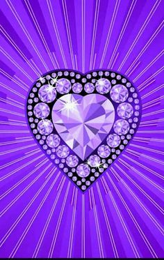 By Artist Unknown. Hello Kitty Iphone Wallpaper, Heart Iphone Wallpaper, Glitter Hearts, Felt Hearts, Purple Hearts, Purple Wallpaper, Purple Backgrounds, Purple Lilac, Shades Of Purple