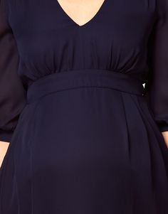 Image 3 of ASOS Maternity Tulip Dress With Ruching