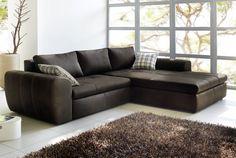 Home Decor Ideas Sofa Design, Big Sofa Leder, Otto Sofa, Moderne Couch, Big Sofas, Sofa Couch, Living Room Furniture, Vintage, Home Decor