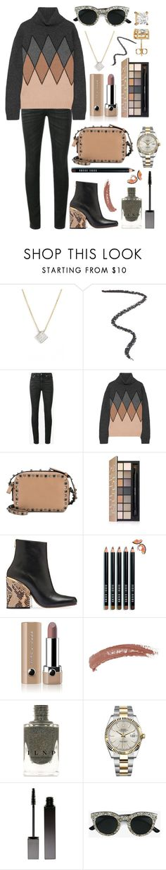 """""""Don't you cry tonight, I still love you baby"""" by theodor44444 ❤ liked on Polyvore featuring Dana Rebecca Designs, Bobbi Brown Cosmetics, Yves Saint Laurent, Prada, Valentino, Estée Lauder, Marni, Marc Jacobs, Topshop and Rolex"""