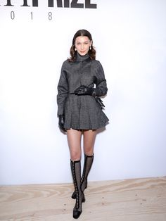 Inside the Best Paris Fashion Week Parties with Elle Fanning, Rami Malek, and Bella Hadid Photos Bella Hadid Photos, Bella Hadid Outfits, Bella Hadid Style, Fashion Models, High Fashion, Paris Fashion, Bella Hadid Red Carpet, Celebrity Style Inspiration, Autumn Fashion 2018