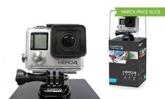 Record your adventures and stunts in lifelike detail with this UHD action cam, which captures high-speed footage with minimal blur