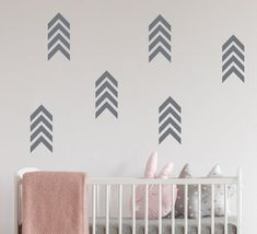 Chevron Arrow Vinyl Wall Decal - Chevron Vinyl Wall Decal - Arrow Wall Decal - Nursery Chevron Arrow decal - Kids Room Arrow Decals 24 Chevron Pattern Decals in each set Each chevron pattern is x Childrens Wall Decals, Nursery Wall Decals, Vinyl Wall Decals, Toilet Ideas, Arrow Pattern, Custom Wall, Textured Walls, Pattern Paper, Chevron