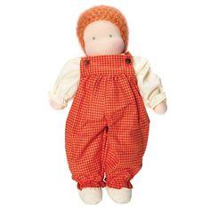 Classic Waldorf Boy Doll - Light Skin, Red Hair