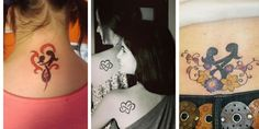 Mother Daughter Tattoos: 99 Adorable Ideas and Meanings Mother Tattoos, Mother Daughter Tattoos, Tattoos For Daughters, Mom Daughter, Drug Tattoos, Girly Tattoos, Disney Tattoos, Tatoos, My Lil Pony