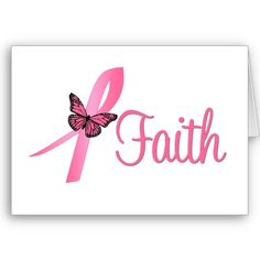 Breast Cancer Awareness - Faith - Go PiNK for the cure breast cancer awareness campaign. October is National Breast Cancer Awareness Month. Breast Cancer Cards, Breast Cancer Support, Breast Cancer Survivor, Breast Cancer Awareness, Cancer Quotes, Faith, Pink October, Mini Tattoos
