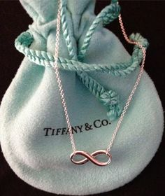 Tiffany and Co infinity necklace, I want this but in silver! hint hint to Nick :)