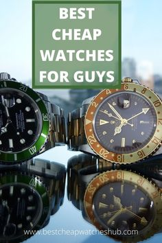 Best cheap watches for guys are the best choice for those who are looking for something cheap that works. These are great watches for the price. There are a ton of good-looking watches out there that will fit a smaller budget under $100.                 #mensfashion #watches #mens #watchesonline #seiko #seiko5 #fashionflippers #fashion #cheapwatches #affordable #affordablewatches #inexpensive #luxury Best Cheap Watches, Best Looking Watches, Affordable Watches, Cool Watches, Good And Cheap, Watches Online, Seiko, Budget, Guys