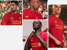 Liverpool FC 2016/17 New Balance Home Kit