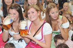 Oktoberfest in Munich more of those bier drinkers