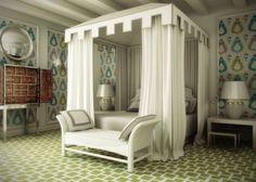 Lorenzo Castillo: bedroom in Provence hotel