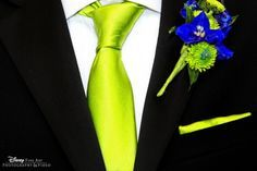 royal blue and lime green flower bouquets | Wedding - Lime Green & Royal Blue