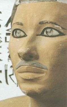 Prince Rahotep of the Dynasty (Detail), collection of the Egyptian Museum in Cairo. Ancient Egypt Pharaohs, Kemet Egypt, Ancient Egyptian Art, Ancient Civilizations, Ancient History, Art History, Egyptian Things, Kairo, Egypt Art