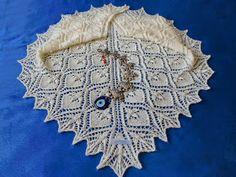 Örgükolik'ten Örgüler: GELİN ÇİÇEĞİ ŞAL Shawl Patterns, Knitting, Crochet, Projects, Cotton, Fashion, Cowl, Bed Covers, Scarf Patterns