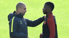 Kelechi Iheanacho 'happy to stay at Manchester City and keep fighting'