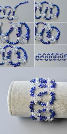 Wanna seed beads bracelet? The tutorial will be released by LC.Pandahall.com