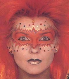 Toyah Wilcox, another wonderful 80s singer.