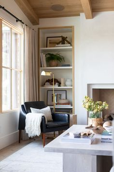 Crestview home tour | lark & linen Living Tv, Kitchen Living, Small Living, Living Spaces, Living Area, Studio Mcgee, Cottage Living Rooms, Living Room Decor, House Rooms