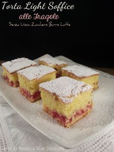 Torta Light Soffice alle Fragole Senza Uova Zucchero Burro Latte -Latte di Mandorla Blog Ricette senza Lattosio - Copyright © All Rights Reserved