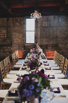 Industrial Glam Wedding in Brooklyn, NY | Planning and Design by Anchored Productions | Photography by Khaki Bedford Studio